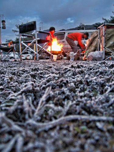 冬キャンプの要は寒さ対策